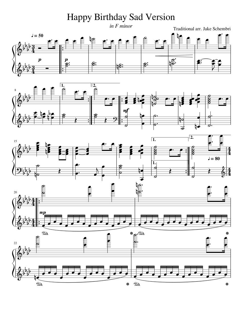 Piano Sheet Music For Piano