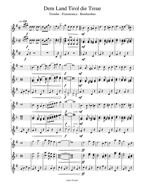 Whimsy sheet music for flute, clarinet, violin, synthesizer.