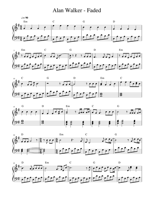 Sheet music | Musescore.com