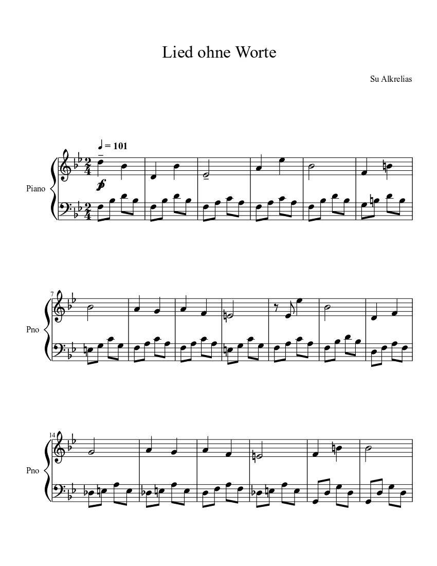 Lieder Ohne Text