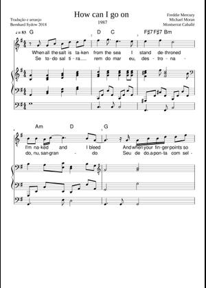 Bohemian Rhapsody sheet music for Piano, Voice download free