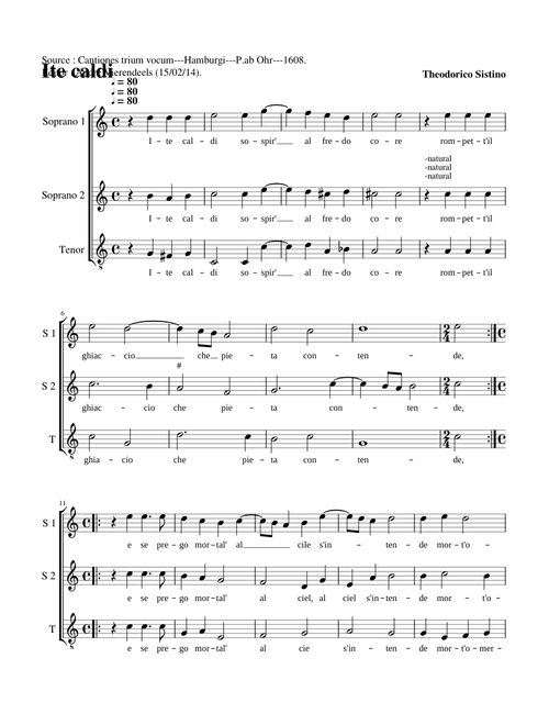 Sheet music for Voice with 3 instruments | Musescore.com