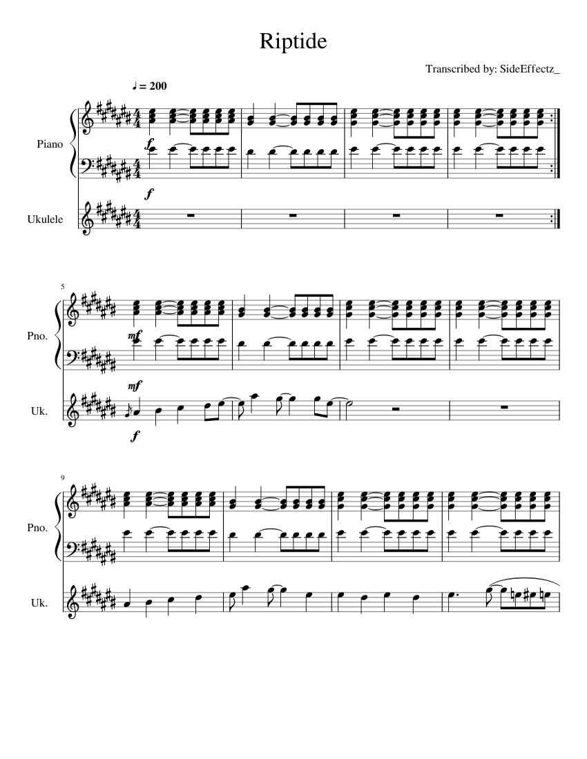 Riptide Song
