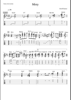 Erroll Garner sheet music free download in PDF or MIDI on MuseScore com