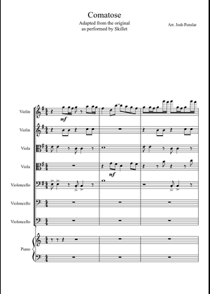 Skillet sheet music free download in PDF or MIDI on
