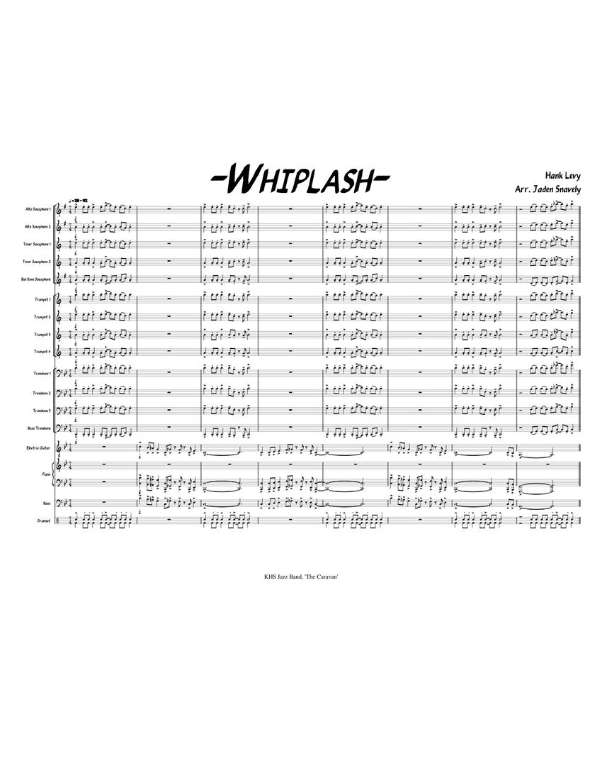 Not My Fucking Tempo whiplash - piano tutorial