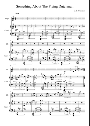 The Pirates Of The Caribbean Flute sheet music for Flute