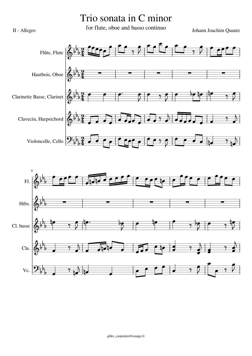 Midi files of piano accompaniment to selected flute and piccolo music