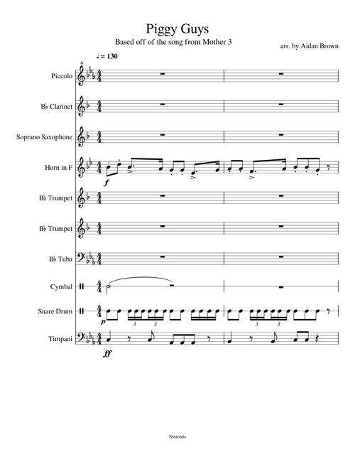 Sheet Music For Clarinet With 10 Instruments Musescore Com