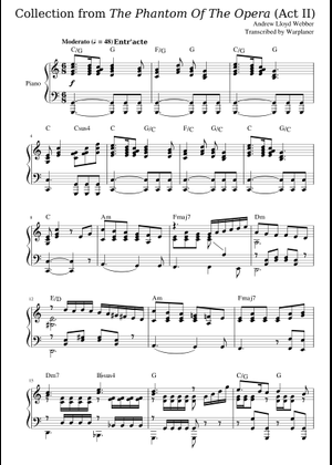 Andrew Lloyd Webber sheet music free download in PDF or MIDI on