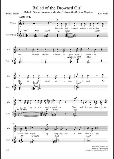Kurt Weill Songbook
