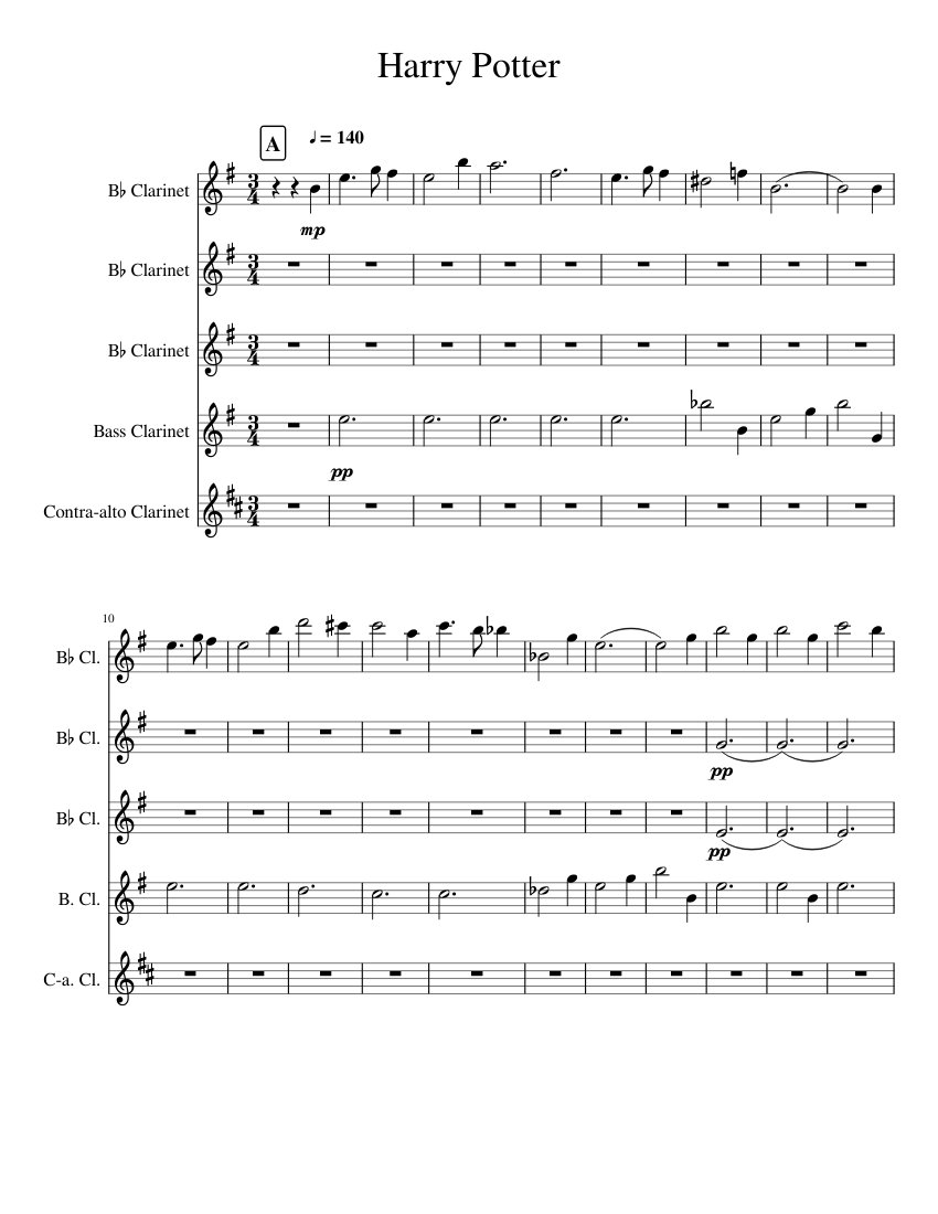 It is a photo of Eloquent Harry Potter Theme Song Sheet Music for Piano Free Printable