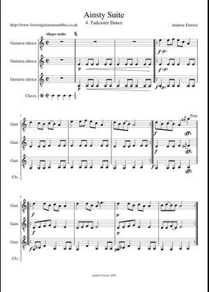 Joropo by Andrew Forrest sheet music for Guitar download