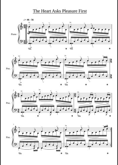 Michael Nyman sheet music free download in PDF or MIDI on MuseScore.com