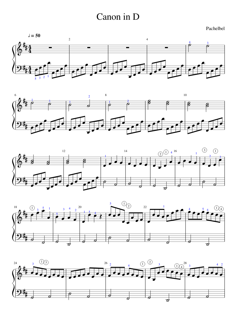 photo about Canon in D Piano Sheet Music Free Printable referred to as Canon within just D (uncomplicated) sheet new music for Piano down load no cost within just PDF