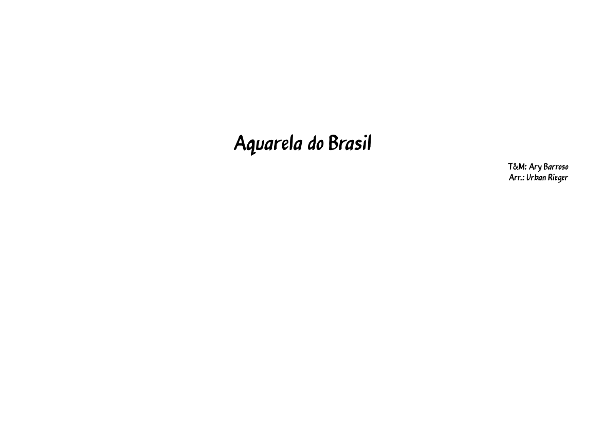 AQUARELA BRASIL MP3 DO COSTA BAIXAR GAL