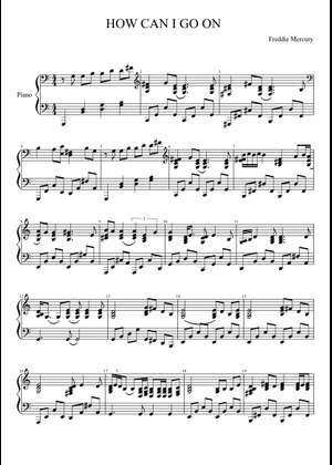 We Are The Champions sheet music for Piano download free in