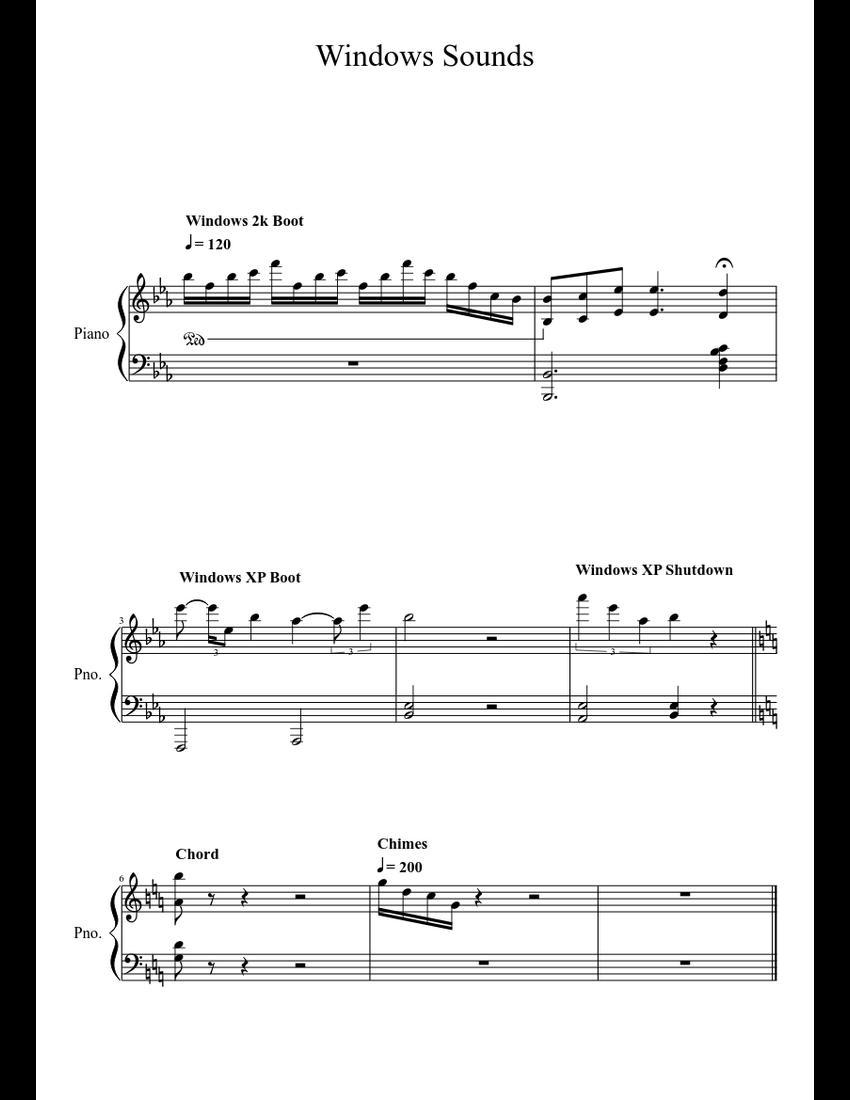 windows xp sound scheme for windows 10