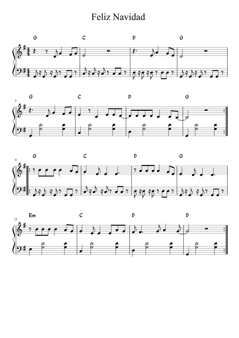 Feliz navidad pdf