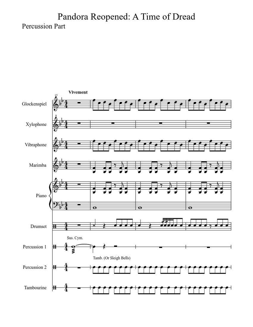 Saxophone Fanfare Bon Jovi Sheet music for Saxophone (Alto