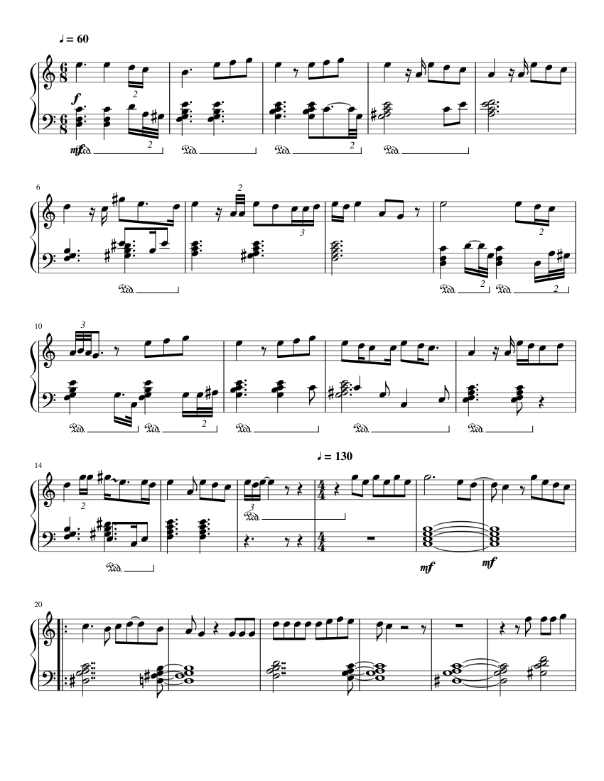 Rex Orange County - Sunflower (for Solo Piano) sheet music
