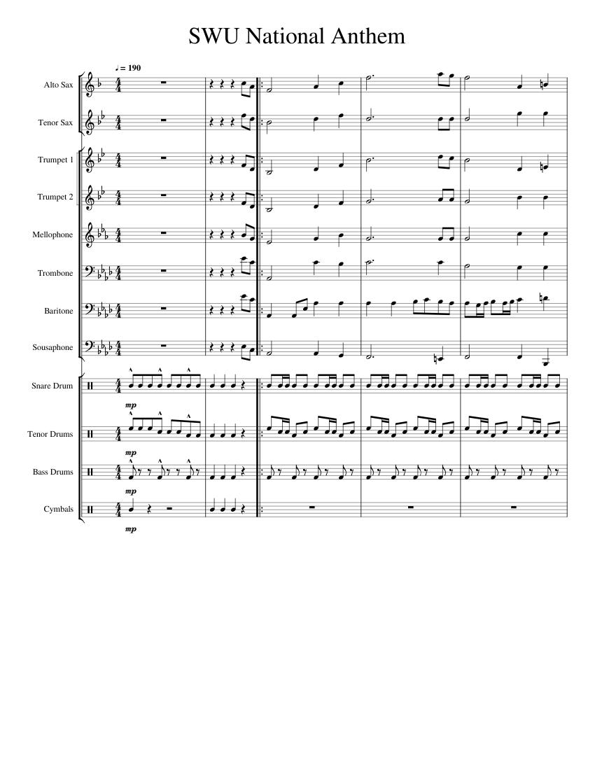 Candy (Saxophone Fanfare) Sheet music for Saxophone (Alto