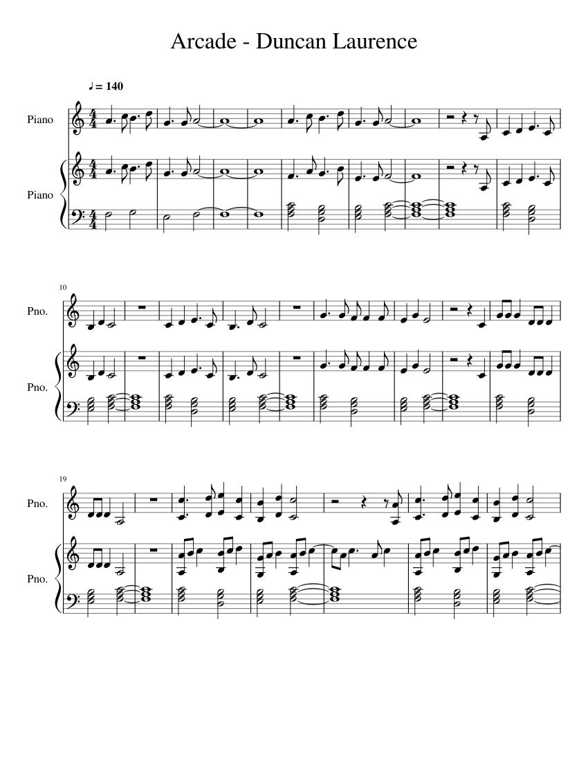 Arcade Song
