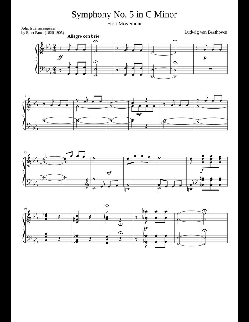 Beethoven 5. Sinfonie