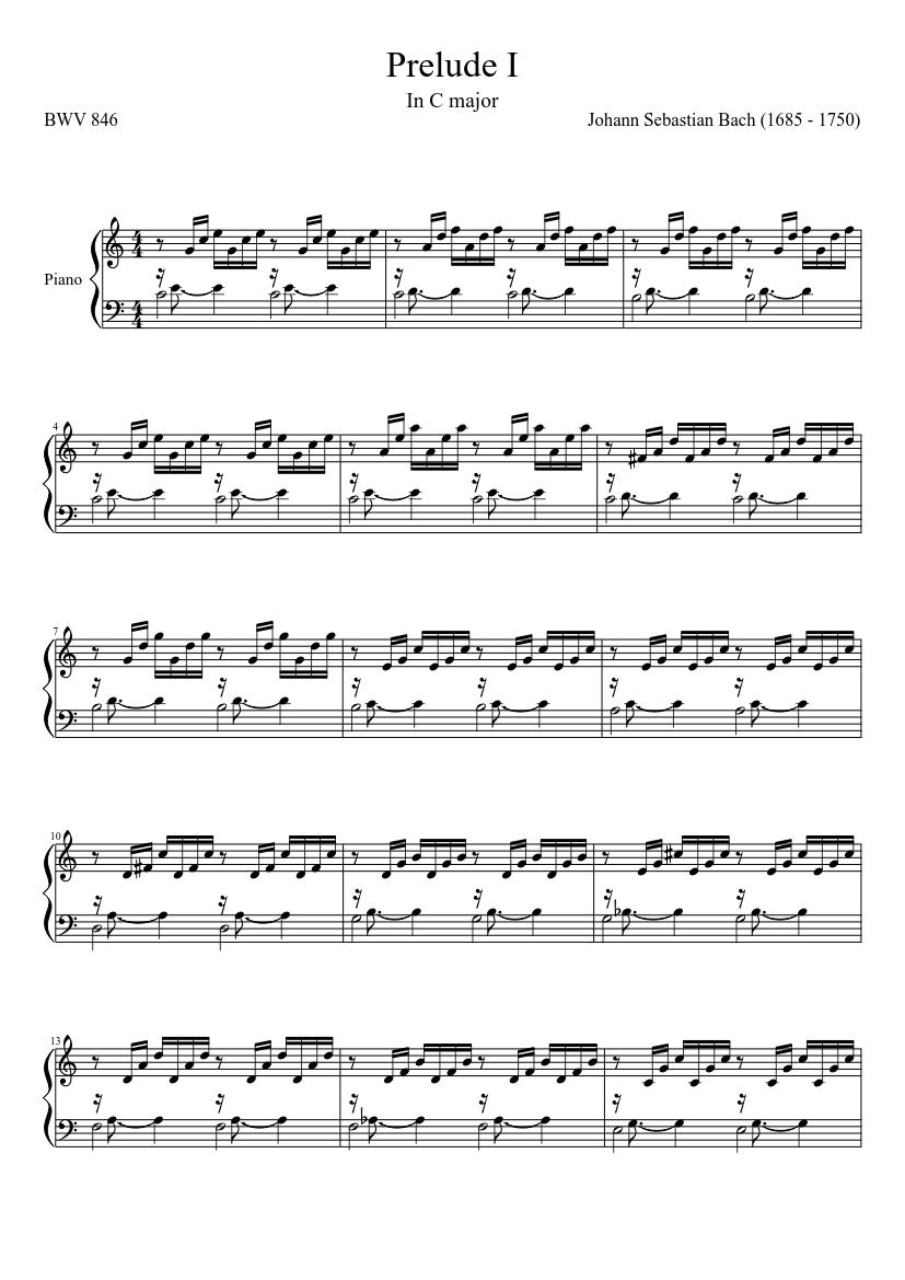Prelude No. 2 in C major